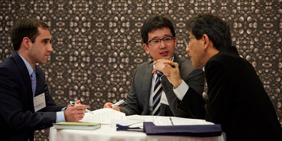 国際学会発表の写真
